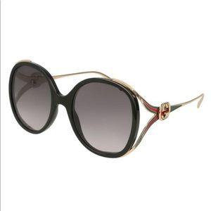 Gucci Oval GG Sunglasses